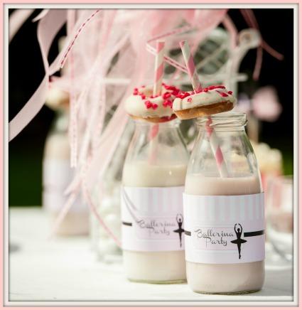 Ballerina Milchflaschen