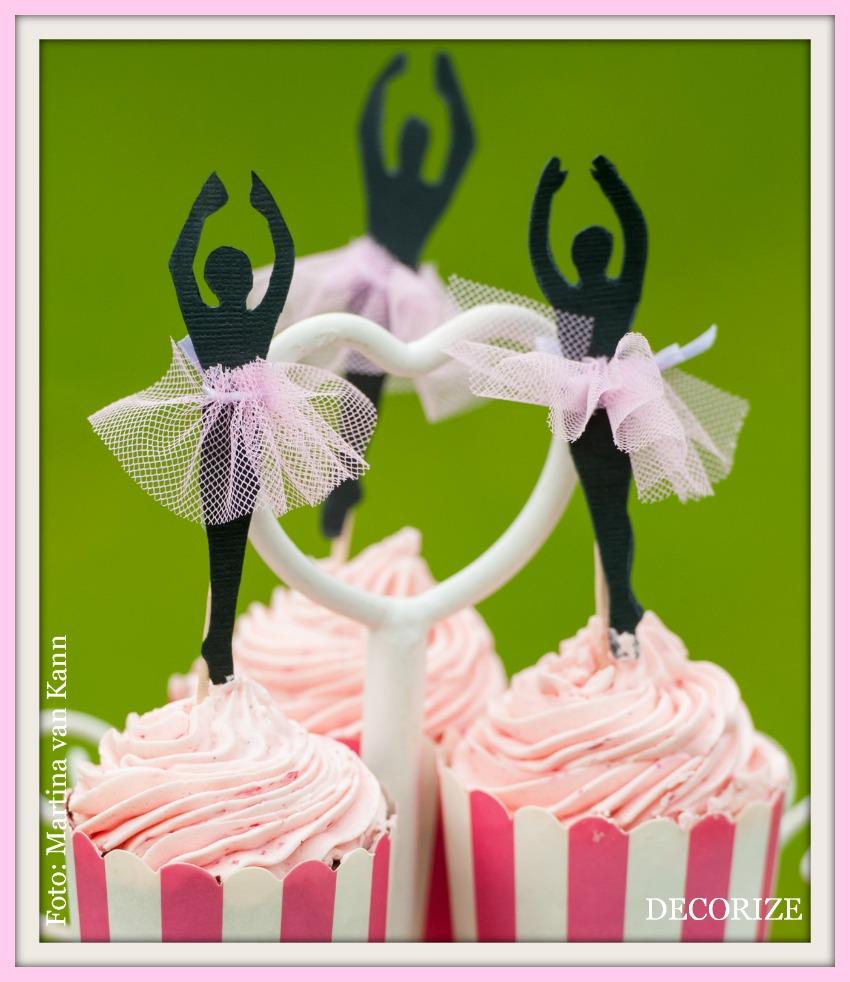 Decorize Partystyling Lovely Bakery Ballerina Cupcakes
