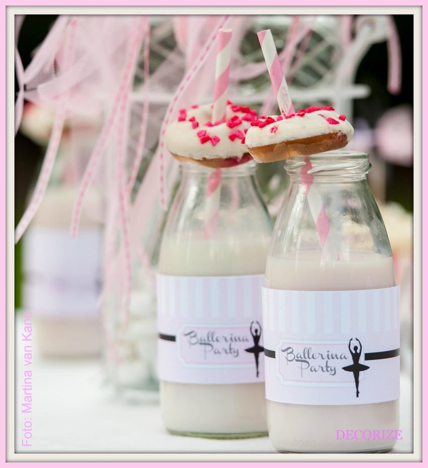 Decorize Partystyling Lovely Bakery Ballerina Erdbeermilch