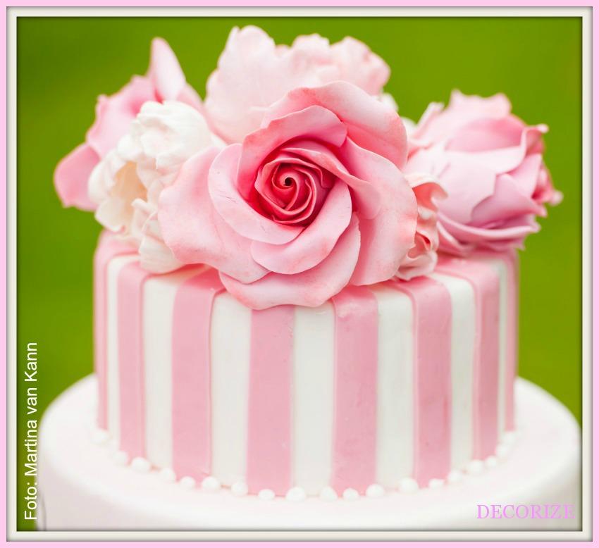 Decorize Partystyling Lovely Bakery Ballerina Torte close up