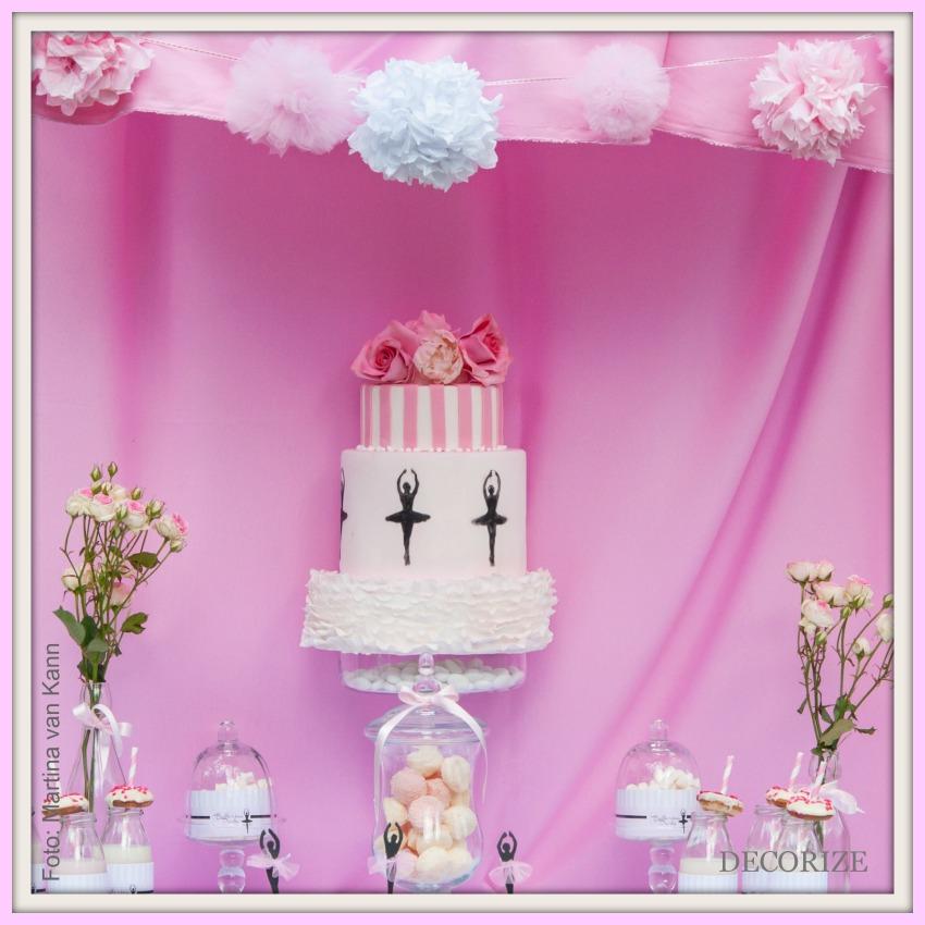 Decorize Partystyling Lovely Bakery Ballerina Torte