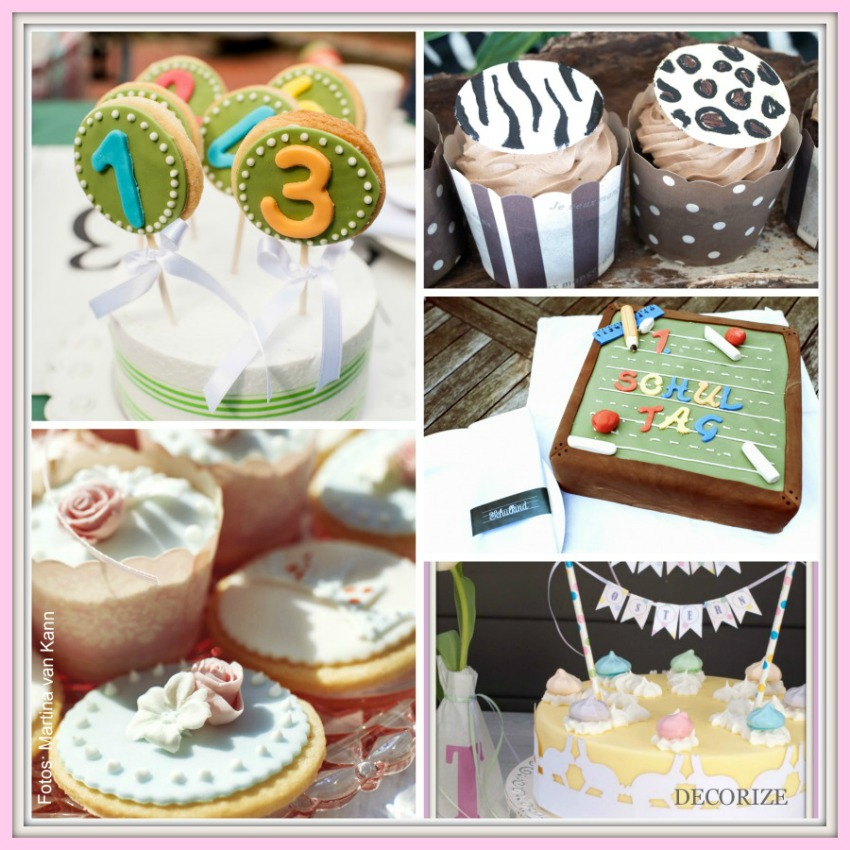 Decorize Partystyling Lovely Bakery Collage