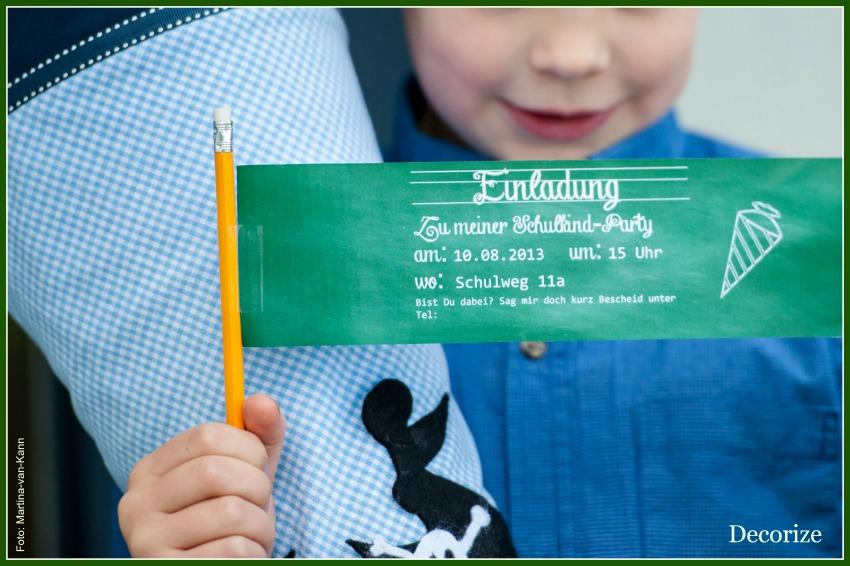Blog Bild Einschulung Einladung