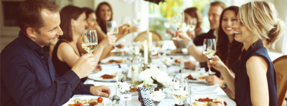 perfekte dinner party tolle inspirationen f r ein dinner mit freunden decorize. Black Bedroom Furniture Sets. Home Design Ideas