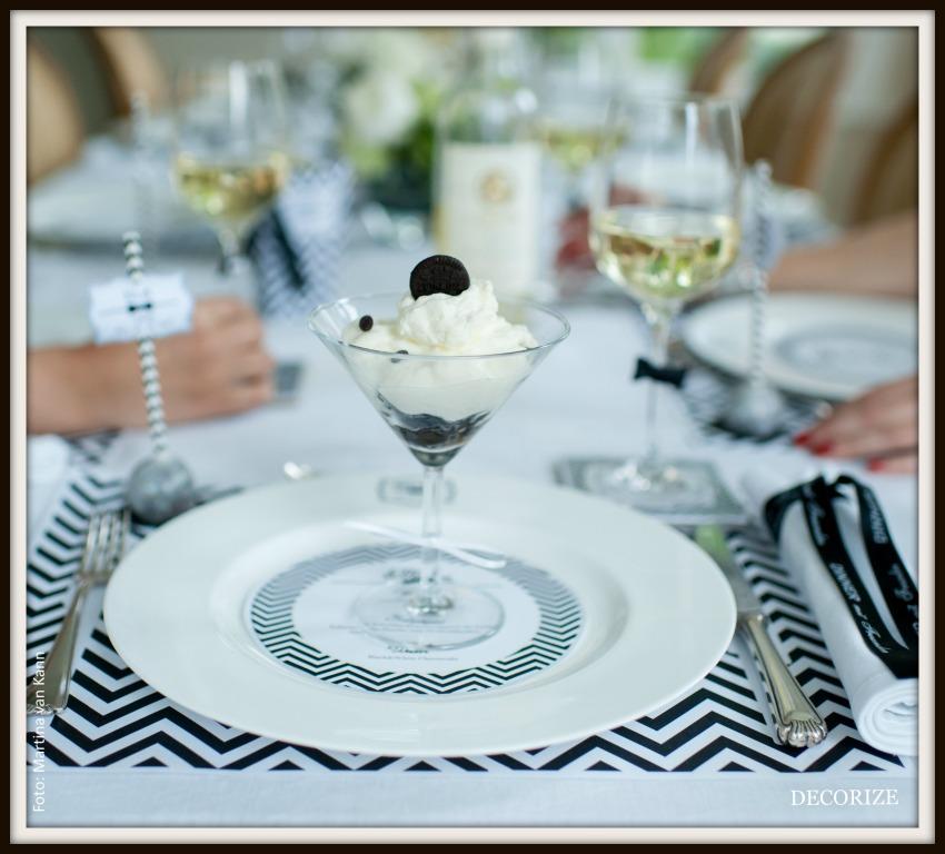 Tolle Partystyling-Inspirationen für ein Dinner mit Freunden: CHEESECAKE-Nachtisch