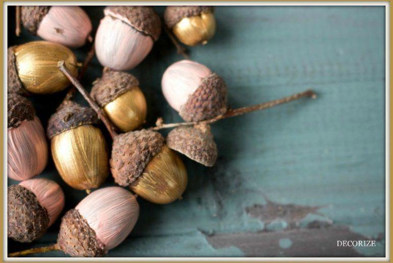 DIY mit Eicheln - so bunt wird der Herbst