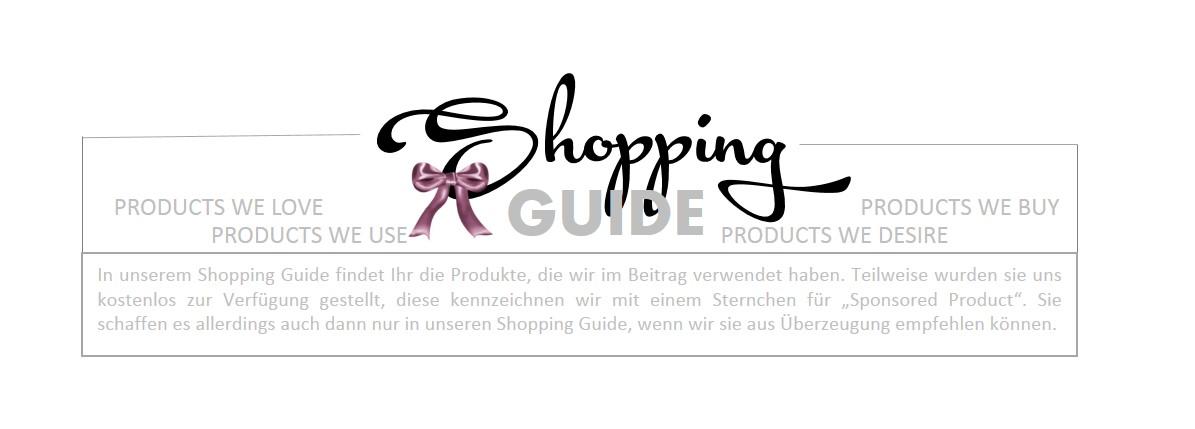 Shopping Guide Banner schleife