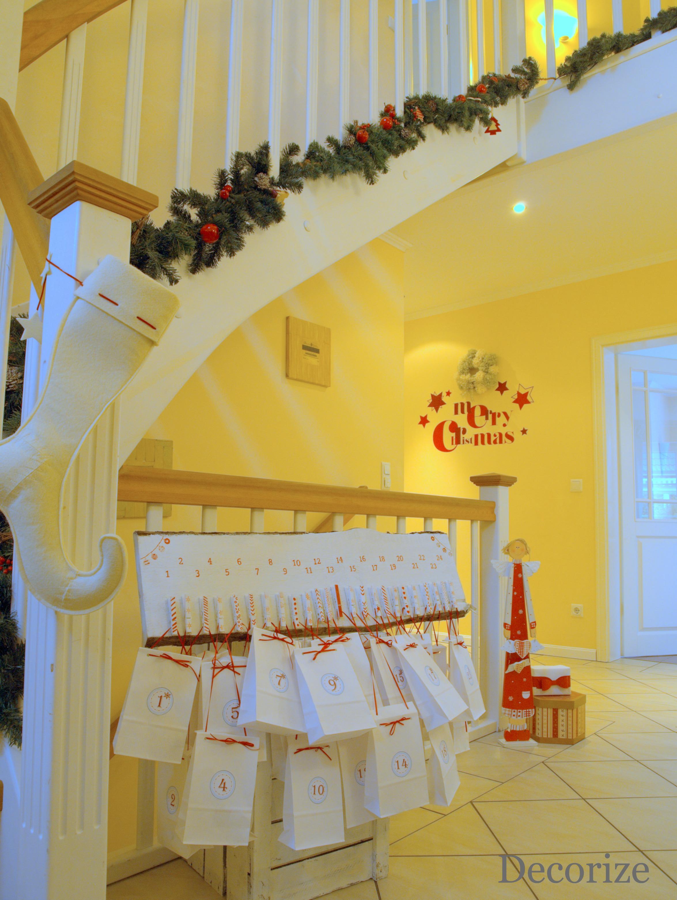 Adventskalender Treppe
