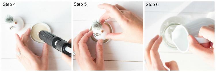 Schneekugel Step 4-6