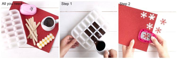 Schokolöffel für die heisse Schokolade Anleitung