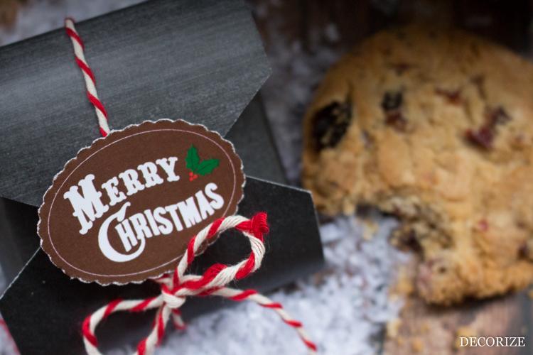 Free Download weihnachtliche Keksverpackung