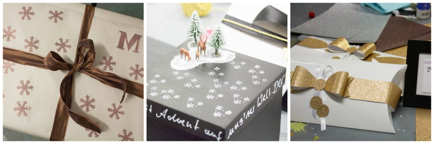 geschenkverpackungen tolle ideen f r weihnachten. Black Bedroom Furniture Sets. Home Design Ideas