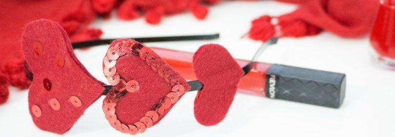 Love is in my hair - DIY Haarschmuck zum Valentinstag