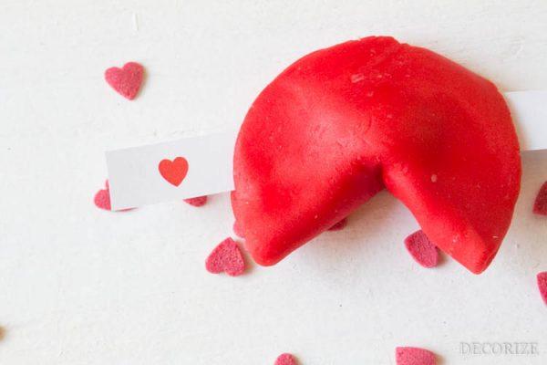 Das Glück trägt rot - Liebesbotschaft zum Valentinstag