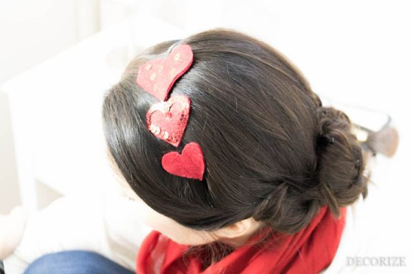 Love is in my hair - DIY Haarschmuck zum Valentinstag