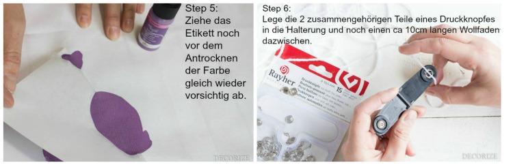 SBS Tischläufer Step5-6