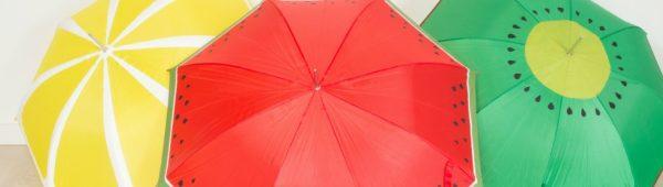 DIY: Freche Früchtchen - Unsere Schirme für gute Laune