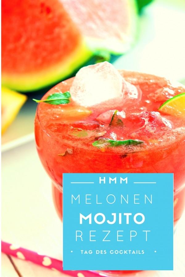 Köstlicher Melonen-Mojito - Rezept