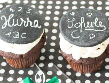 Tafel-Muffins für den 1. Schultag