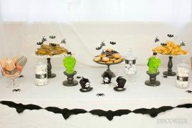 Spukiges Halloween-Buffet - unsere Deko-Favoriten