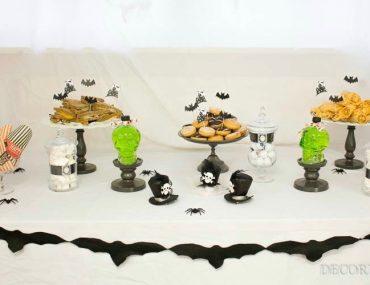 Spukiges Halloween-Buffet - unsere Deko-Favoriten