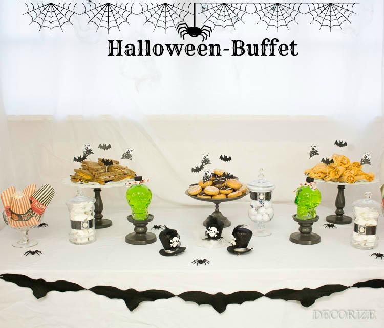 Buffet Kreativ-Party Halloween Aufmacher