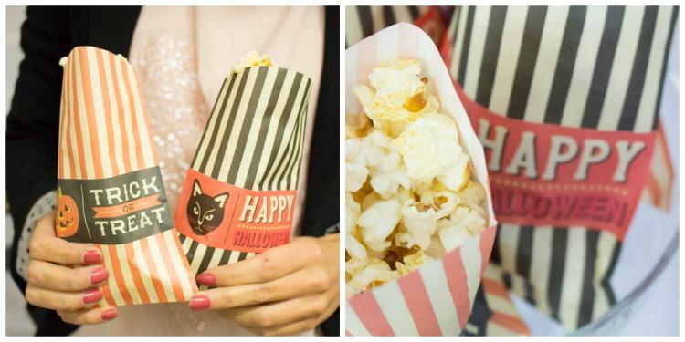 Buffet collage popcorn