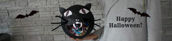 Greif zu, wenn Du Dich traust: DIY Halloween Süßigkeiten-Schale