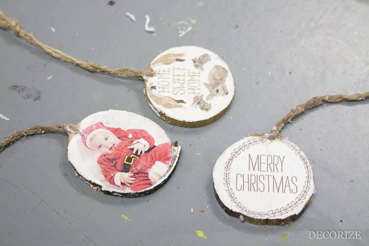 DIY Geschenkanhänger zu Weihnachten