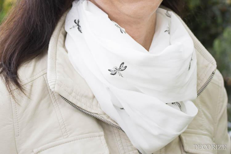 Decorize bedruckter Schal (4 von 7)