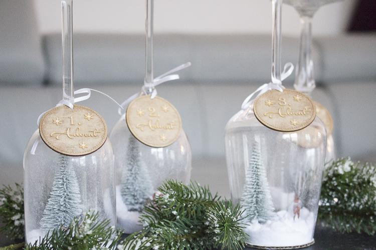 DIY Advent im Glas