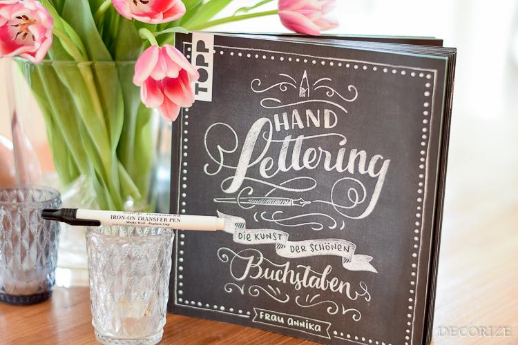 Handlettering DIY Buch Stift