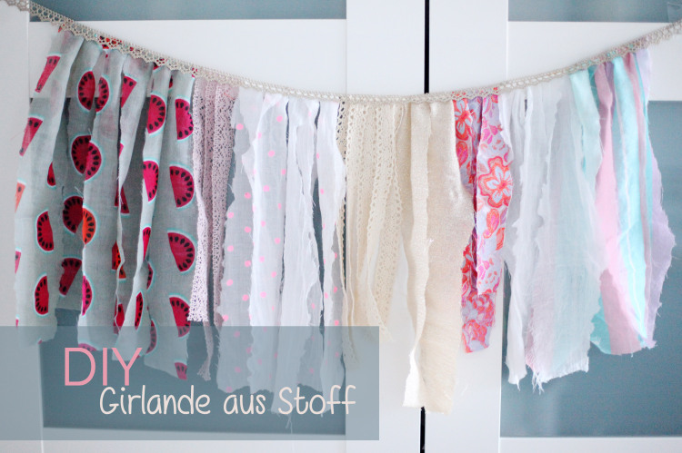 DIY Stoffgirlande - Photograpers Friend