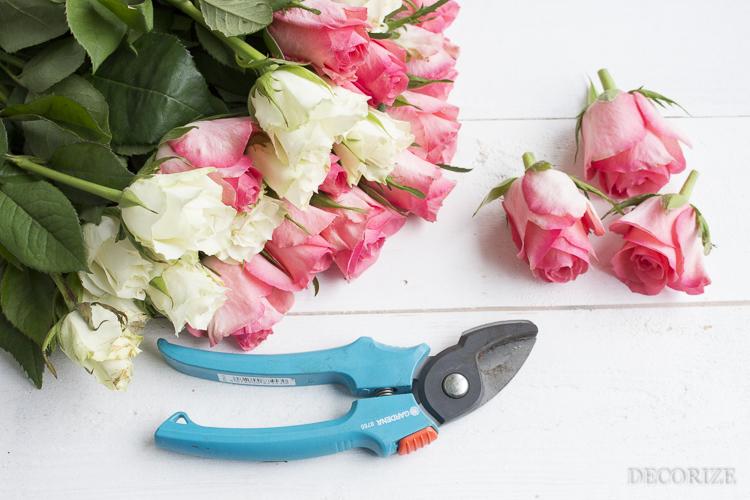 Decorize Frühling Blumen Tischdeko Buchstaben (5 von 19)