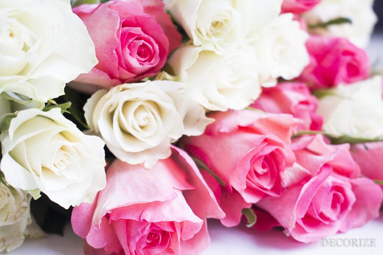 Decorize Frühling Blumen Tischdeko Buchstaben (6 von 19)
