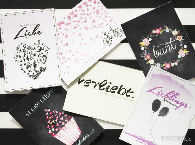Decorize Valentinstag Karten (2 von 9)