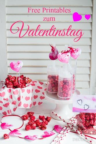 Decorize Valentinstag Popcorn Pinterest