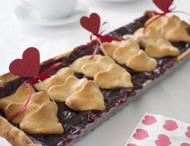 Tarte-rataaa!! Eine Kirsch-Tarte zum Valentinstag