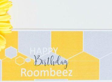 Happy Birthday, Roombeez! - Eine Geburtstags-Candybar mit Printable-Freebie