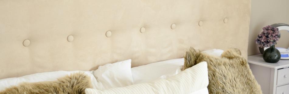 Fabulous Aufgemöbelt - DIY: Ein Kopfteil fürs Bett - Decorize WV59