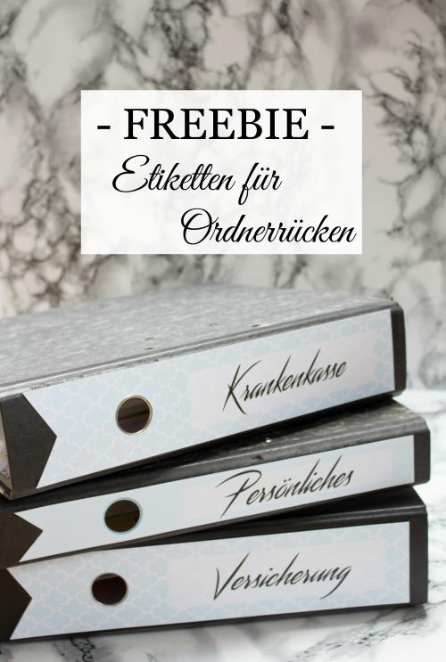 Freebie für Ordneretiketten