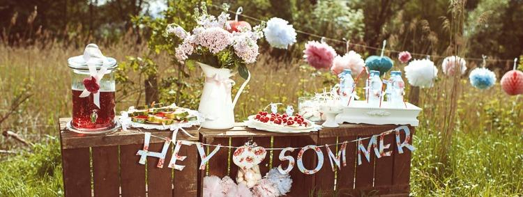 5 Tipps für die perfekte Sommerparty mit Freebie