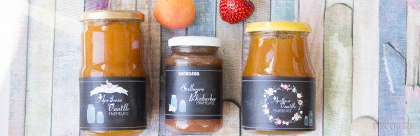 Etiketten für selbstgemachte Marmelade *Freebie*