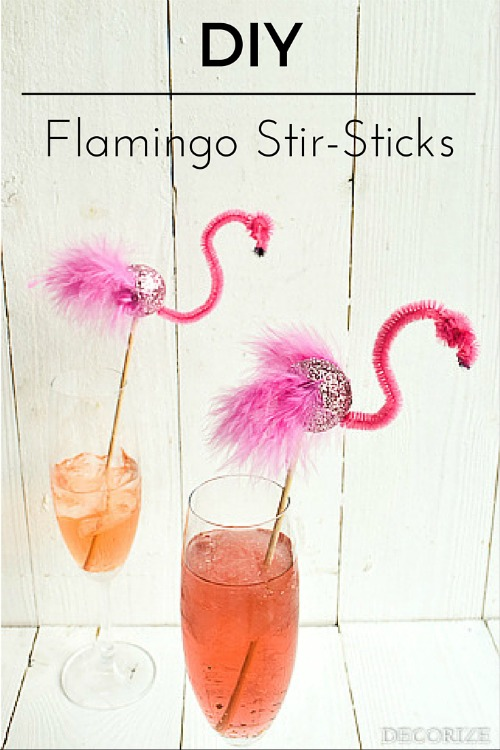 Slush Flamingo Stirsticks