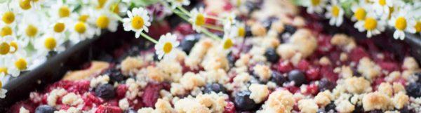 Hmmm, lecker: Gartenfrüchte-Kuchen