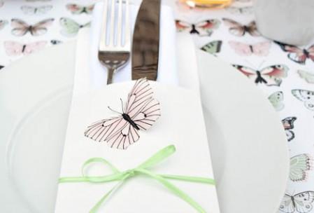 Sommer-Tischdeko Schmetterling-4