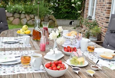 Sommer-Tischdeko Schmetterling