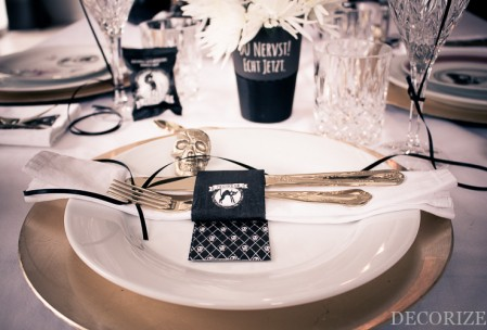 Halloween Pech-Party Partystyling