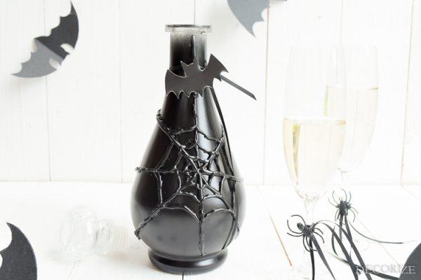Auf einen Schluck Hexenbräu - Halloween-Glas-Karaffe