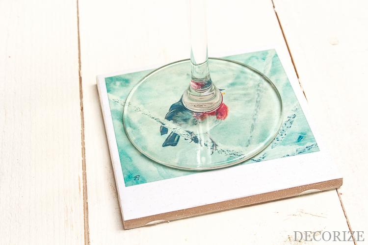 DIY Glas-Untersetzer mit Step-by-Step Anleitung